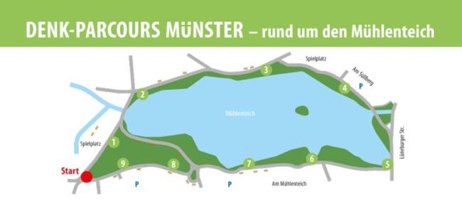 Denk-Parcours Münster