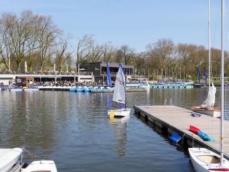 Wassersport am Aasee Münster