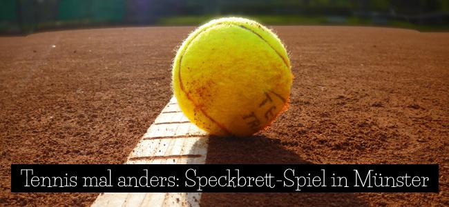 Speckbrett-Spiel in Münster